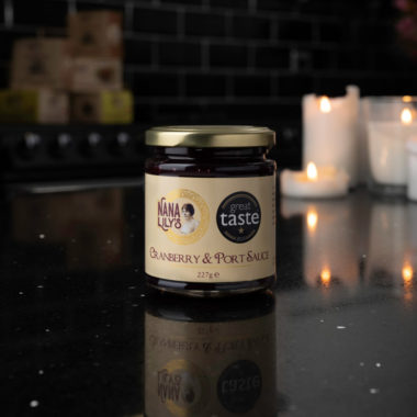 Nana Lily's Cranberry and Port Sauce