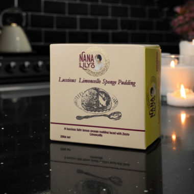 Nana Lily's Luscious Limoncello sponge pudding