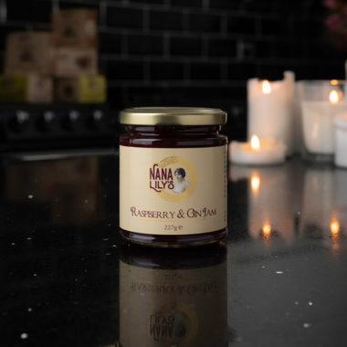 Nana Lily's Raspberry and Gin Jam