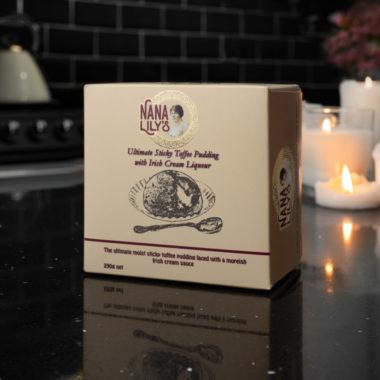 Nana Lily's Ultimate sticky Toffee Pudding with Irish Cream Sauce